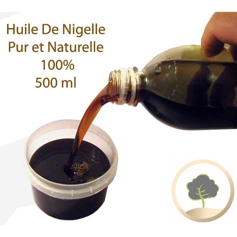 Olie van nigelle Hemani 500 ml