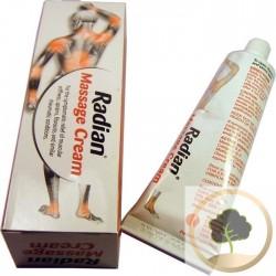 Massagem Radian Creme de alívio muscular