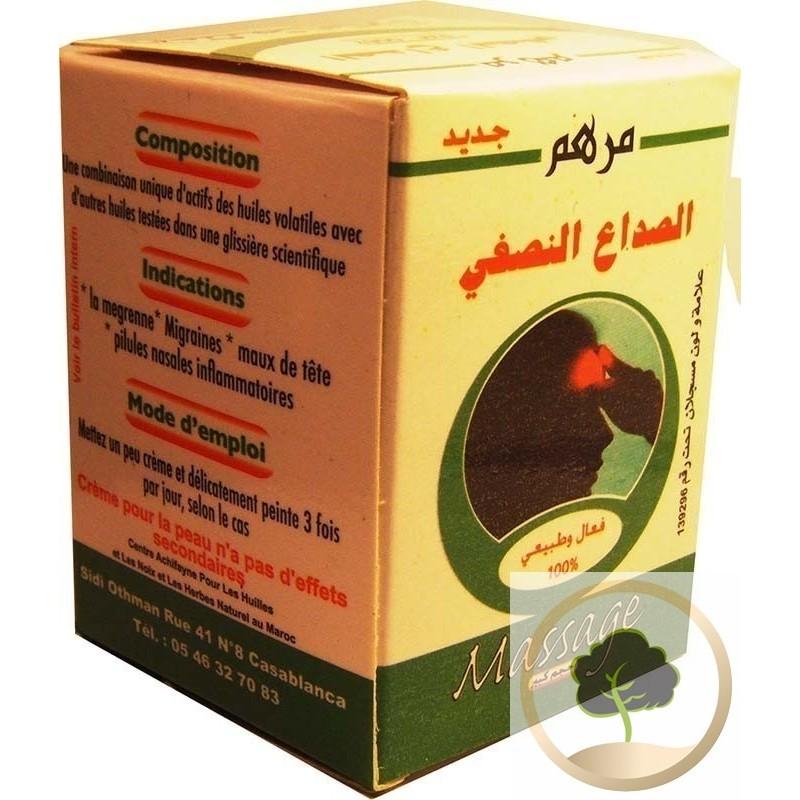 Crema contra la migraña (efectiva)