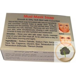 Mud Mask Soap (Cucumber Extract)