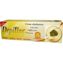 Depilatory cream with lemon