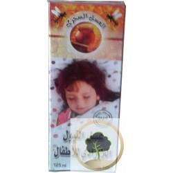 Miel contra la enuresis nocturna de los niños