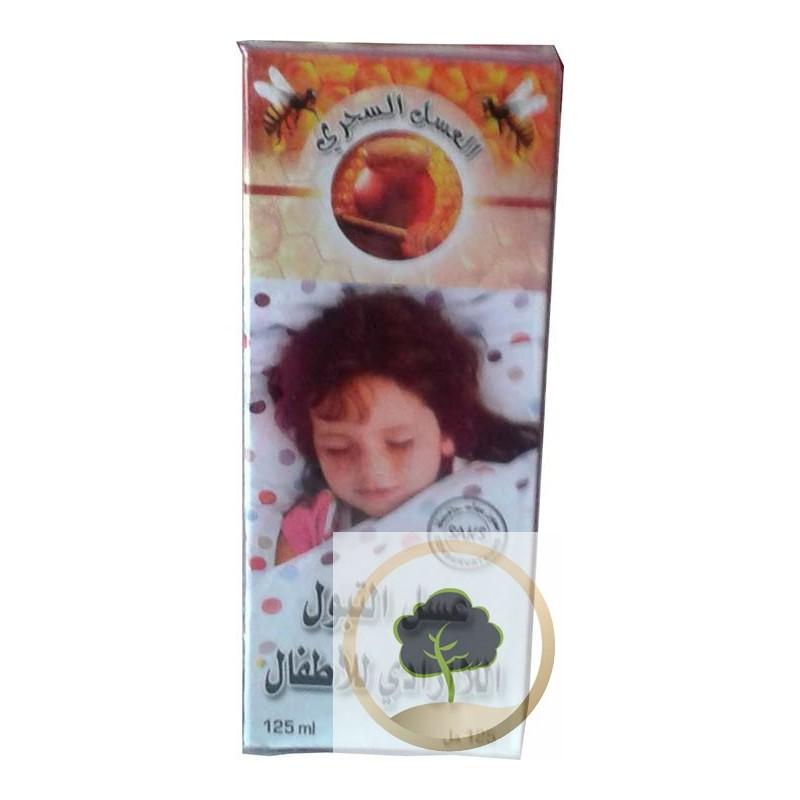 Miel pour l'énurésie nocturne de l'enfant