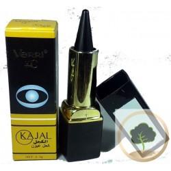Kajal/Kohl negro con espejo