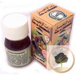 Olio di zinzero biologico