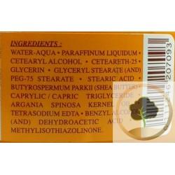 Crema con aceite de argán