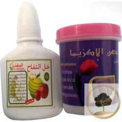 Natürliche und effiziente Creme gegen Ekzeme