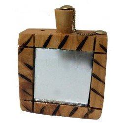Wooden Kohl Bottle