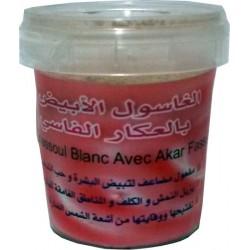 Ghassoul bianco con Akker fassi