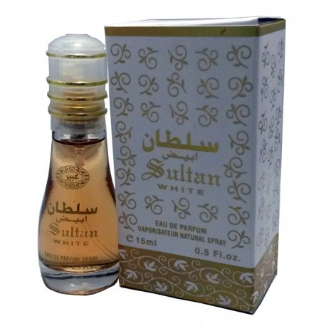 Sultán de perfume blanco