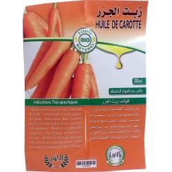 Huile de Carotte bio - 30 ml
