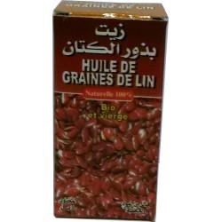 30 ml de óleo bio de grão de Lin