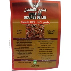 Aceite de semillas de lino - 30 ml
