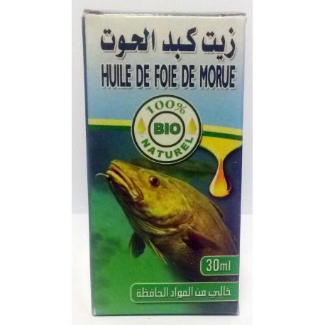 Geloof van kabeljauw 30ml olie