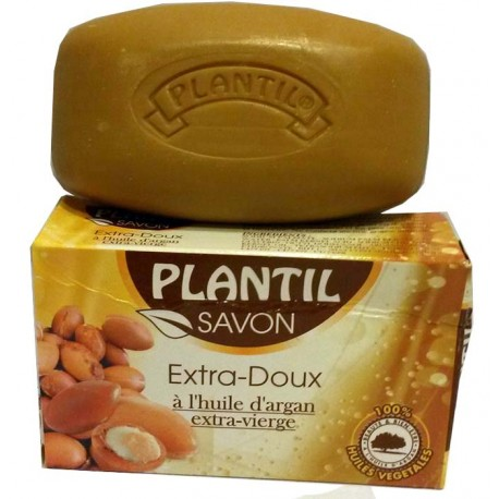 Plantil Soap Extra Mild with Extra Virgin Argan Oil