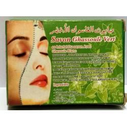 Ghassoul mydło zielone
