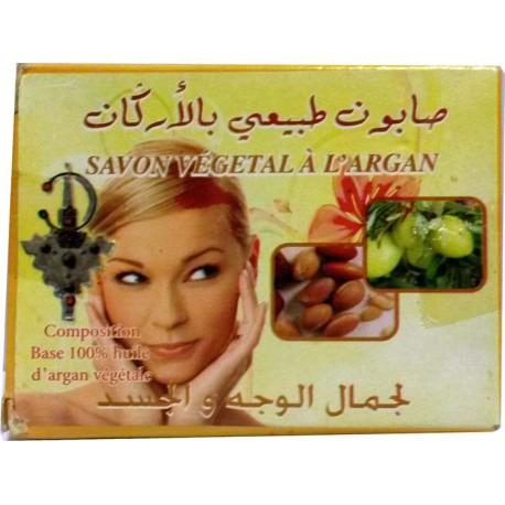Jabón vegetal de argán