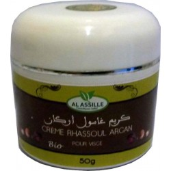 Crema di Ghassoul all'olio di Argan