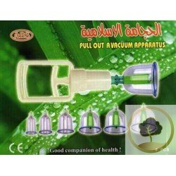 Kit of hijama (6 glasses)