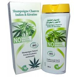Shampoing Chanvre Indien et Kératine