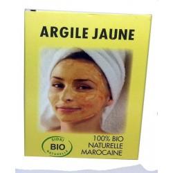 Argile Jaune - Masque Sidki Bio