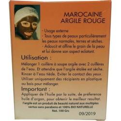 Argile Rouge - Masque Sidki Bio