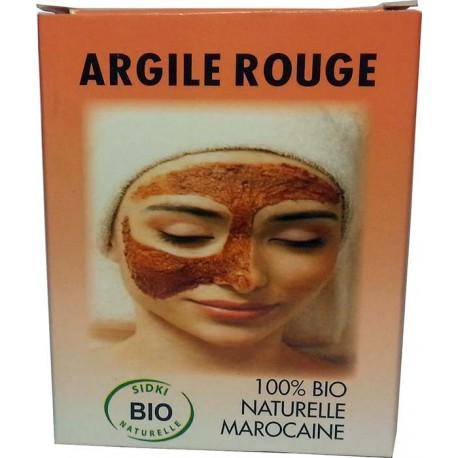 Bio-Maske Sidki mit rotem Lehm
