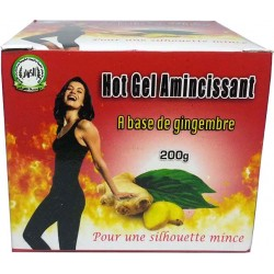Hot Gel Amincissant a base de gingembre