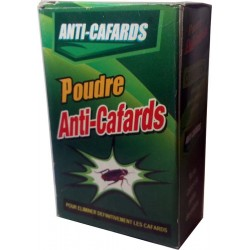 6 sachets de Poudre Anti-Cafard