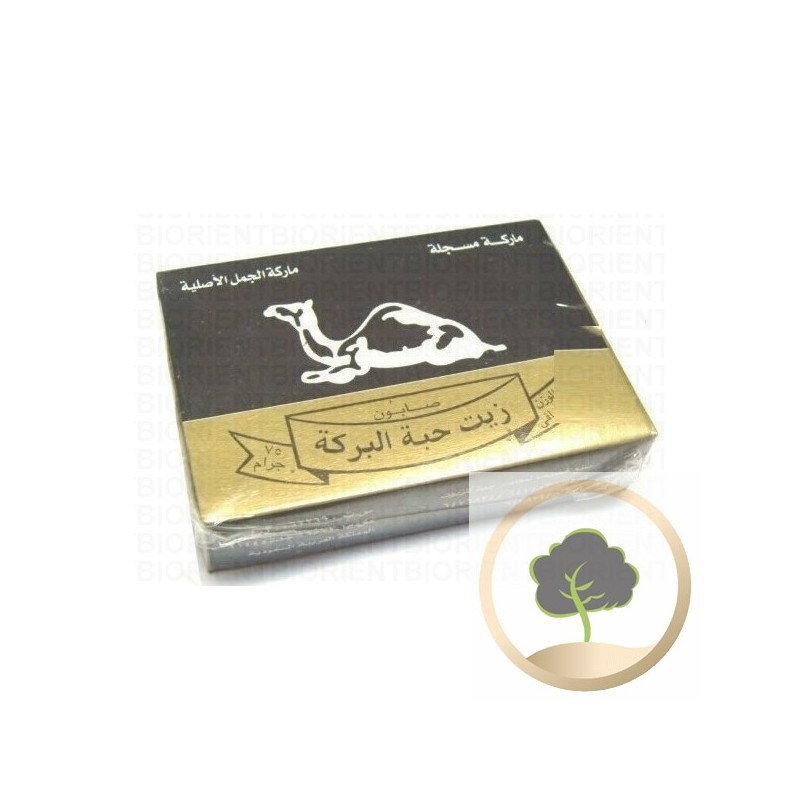 Zeep van zwarte komijn (nigelle)