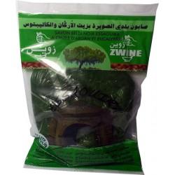 Jabón negro con eucalipto y aceite de argán - Zwine