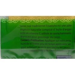 Schwarze Seife mit Argan- und Eukalyptus-Öl von Zwine