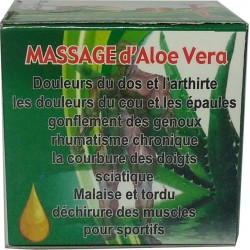 Crema de masaje Aloe Vera