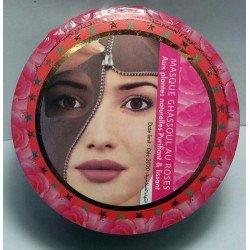 Máscara Rhassoul (argila) com óleo de Rose