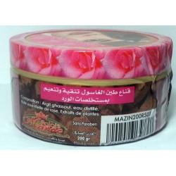 Mascarilla de ghassoul con aceite de rosa