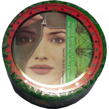 Ghassoul-Maske mit Aloe Vera
