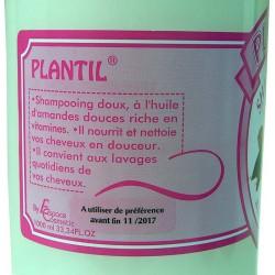 Shampoo delicato con olio di Mandorle dolci emolliente (Plantil)