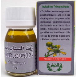 Oil of ruta graveolens
