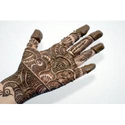 Henna para tatuajes en manos y pies