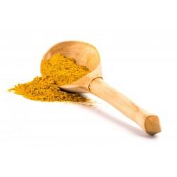 Zak van 100 gram van gemalen tumeric