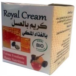 Crème de miel gelée royale