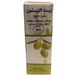 Olio biologico di oliva senza sale