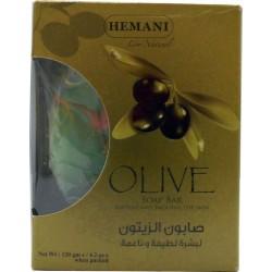 Savon à base de l'huile d'olive Hemani