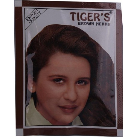 Brown Henna Hair Color (Tiger's)