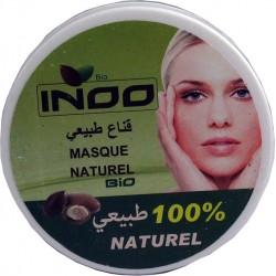 Máscara de argila para o rosto con óleo de argan