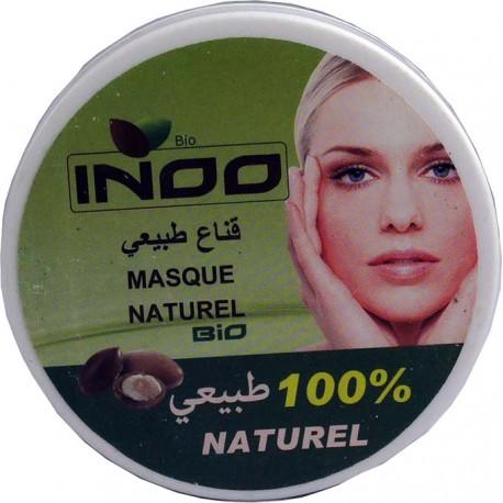 Weiße Ghassoul-Maske mit Arganöl