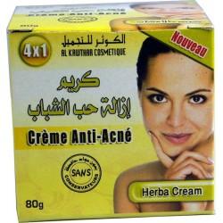 Crema especial contra el acné