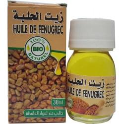 30 ml de óleo orgânico, feno-grego