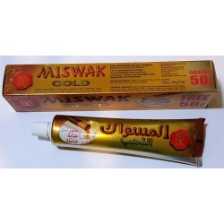 Dentífrico Natural Miswak Edición Oro