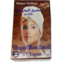 Белый Ghassoul с аргановым
